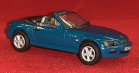Hongwell Cararama: BMW Z3 - Teal/Green - 1:72 Scale Die-Cast Model